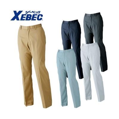 ジーベック XEBEC 1624 レディースピタリティスラックス 通年 秋冬用 女性用 婦人用 作業服 作業着 作業パンツ レディースパンツ ズボン