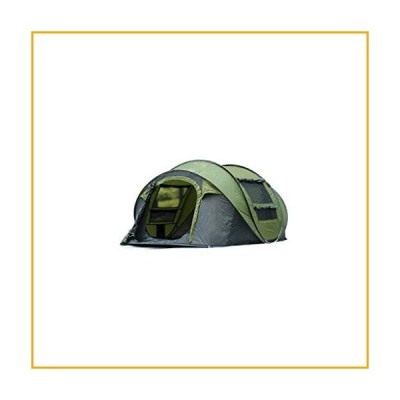 YDHWY Large Throwing Tent, Outdoor 3-4 People Automatic Speed Throw Throwing Windproof and Waterproof Beach Camping Tent【並行輸入品