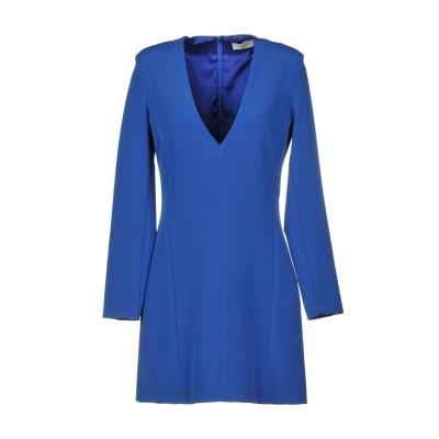 VICOLO ミニワンピース&ドレス ブルー M ポリエステル 88% / ポリウレタン 12% ミニワンピース&ドレス