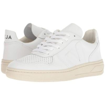 ヴェジャ VEJA レディース スニーカー シューズ・靴 V-10 Extra-White Leather