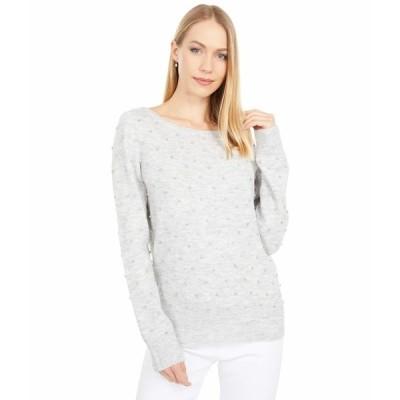 リリーピュリッツァー ニット&セーター アウター レディース Laveta Rhinestone Sweater Heathered Seaside Grey Ritzy Rhinestones