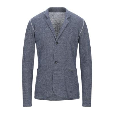 DRAKEWOOD テーラードジャケット ブルーグレー M リネン 55% / コットン 45% テーラードジャケット