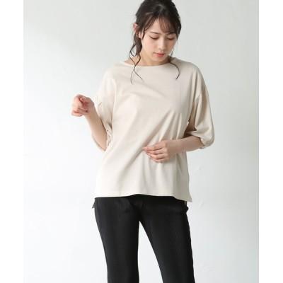 Honeys / ボリューム袖Tシャツ WOMEN トップス > Tシャツ/カットソー