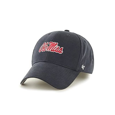 '47 NCAA Mississippi Old Miss Rebels Youth Basic MVP Adjustable Hat, One Si