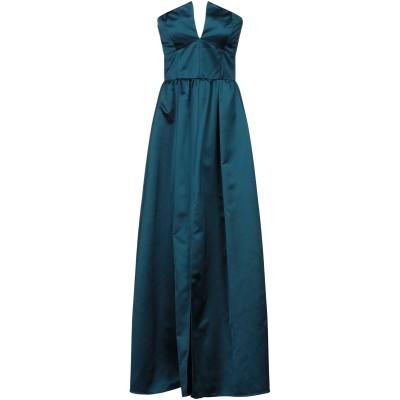 カルラ ジー CARLA G. ロングワンピース&ドレス ディープジェード 40 レーヨン 54% / ナイロン 46% ロングワンピース&ドレス