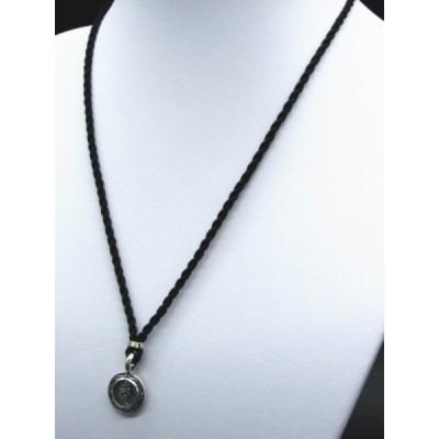 銀製 守護梵字シルクコードペンダント プレゼント付