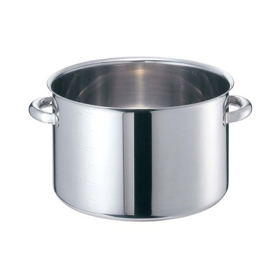 EBM モリブデンジII 半寸胴鍋(目盛付)21cm 蓋無