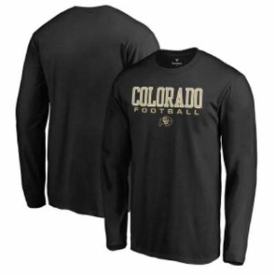 Fanatics Branded ファナティクス ブランド スポーツ用品  Fanatics Branded Colorado Buffaloes Black True Sport Football Long Sleeve