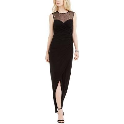 ヴィンス カムート Vince Camuto レディース パーティードレス ワンピース・ドレス Sweetheart Embellished Illusion Gown Black