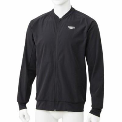 スピード(Speedo)スタンダードジャケット(メンズ/トレーニングウェア) SA01901-K