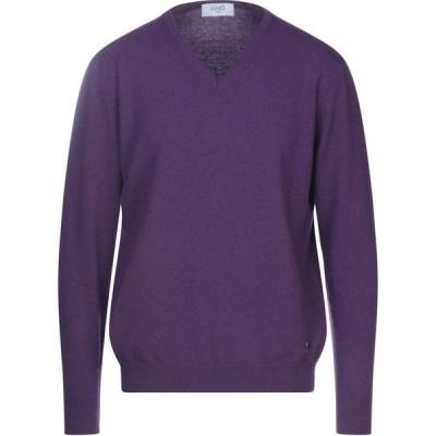リウジョー LIU JO MAN メンズ ニット・セーター トップス sweater Purple