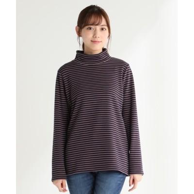 Honeys / 裏シャギーハイネック WOMEN トップス > Tシャツ/カットソー