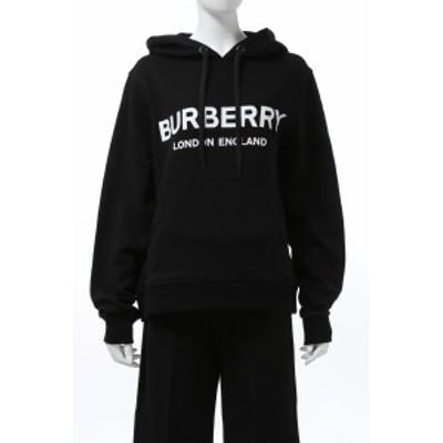 バーバリー BURBERRY トレーナー スウェットパーカー フーディー ブラック レディース (8011652) 送料無料 2020年秋冬新作