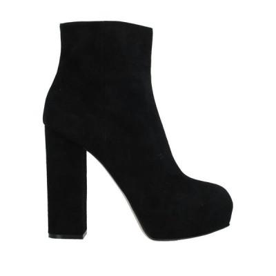 GIAMPAOLO VIOZZI ショートブーツ  レディースファッション  レディースシューズ  ブーツ  その他ブーツ ブラック