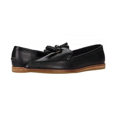 Sperry スペリー レディース 女性用 シューズ 靴 ローファー ボートシューズ Saybrook Slip-On Tumbled Leather - Black