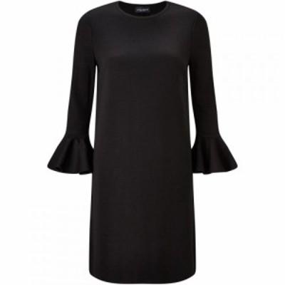 ジュームズ レイクランド James Lakeland レディース パーティードレス ワンピース・ドレス Tulip Sleeve Knitwear Dress Black