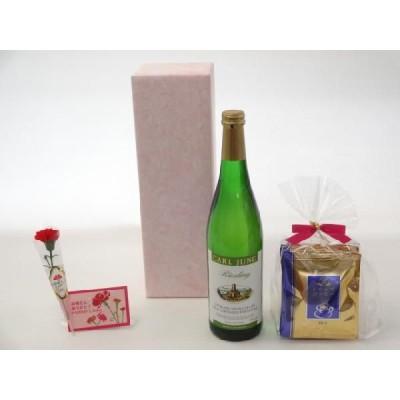 母の日 ワインセット 挽き立て珈琲(ドリップパック5パック)(脱アルコールワイン 750ml(カールユング リースリング (ノン