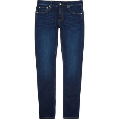 アレキサンダー マックイーン Alexander McQueen メンズ ジーンズ・デニム ボトムス・パンツ Indigo Slim-Leg Jeans Blue