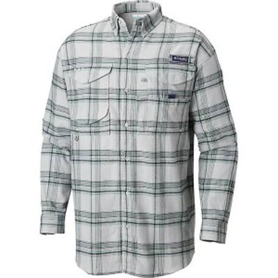 (取寄)コロンビア メンズ ボーンヘッド フランネル ロングスリーブ シャツ Columbia Men's Bonehead Flannel LS Shirt Cool Grey Large P