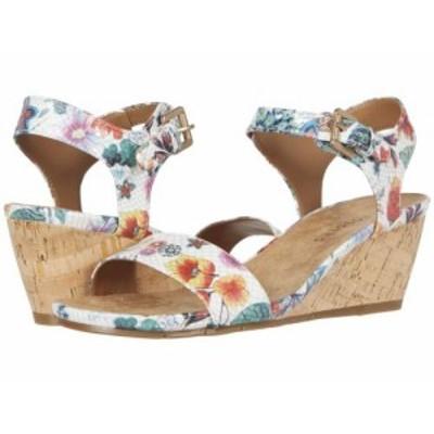 Aerosoles エアロソールズ レディース 女性用 シューズ 靴 ヒール Carago White Floral Multi【送料無料】