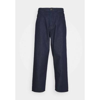 エンポリオ アルマーニ デニムパンツ メンズ ボトムス Relaxed fit jeans - blue
