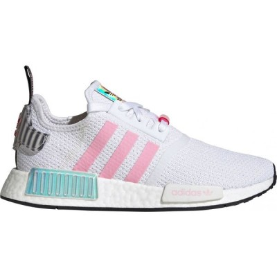 アディダス adidas レディース シューズ・靴 Originals NMD_R1 shoes White/Pink/Vivid Red