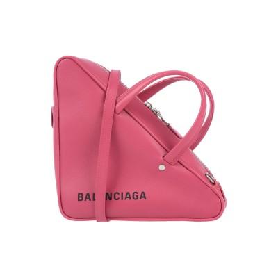 バレンシアガ BALENCIAGA ハンドバッグ ライトパープル 革 ハンドバッグ