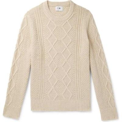 NN07 メンズ ニット・セーター トップス sweater Ivory