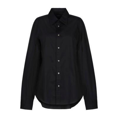 POLO RALPH LAUREN シャツ ブラック 12 コットン 95% / ポリウレタン 5% シャツ
