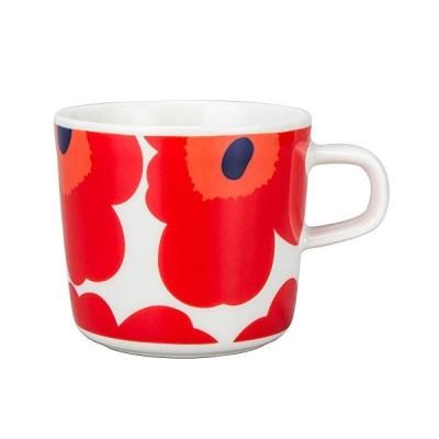 マリメッコ Marimekko マグカップ コーヒーカップ 200mL ウニッコ 063429 ホワイトレッド Mug UNIKKO CO