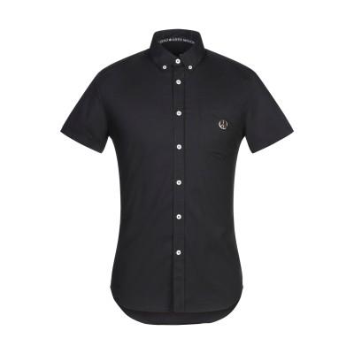 ラブ モスキーノ LOVE MOSCHINO シャツ ブラック XS コットン 97% / ポリウレタン 3% シャツ