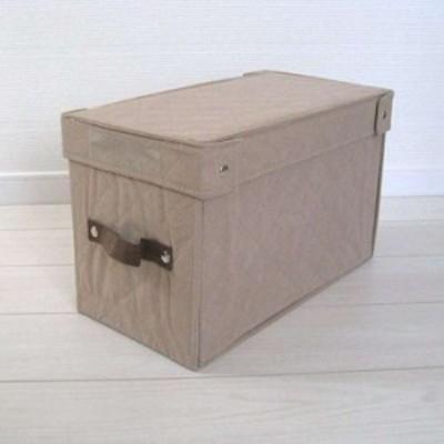 折りたたみ収納BOX ベージュ・Aタイプ(b1)(ベージュ)