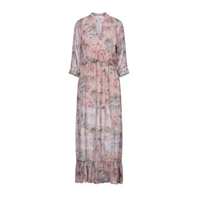 REVISE ロングワンピース&ドレス パステルピンク M ポリエステル 100% ロングワンピース&ドレス