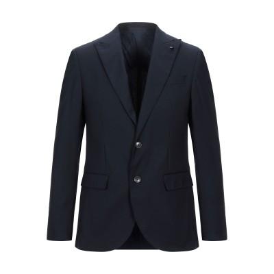 DOMENICO TAGLIENTE テーラードジャケット ダークブルー 48 バージンウール 100% テーラードジャケット