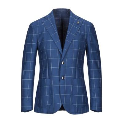 エル・ビー・エム 1911 L.B.M. 1911 テーラードジャケット ブルー 50 シルク 42% / リネン 30% / ウール 28% テー