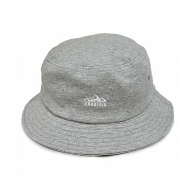 【キーズ】 帽子 ハット メンズ レディース HAT バケットハット スウェット アウトドア 刺繍 ロゴ キーズ Keys ユニセックス グレー M Keys