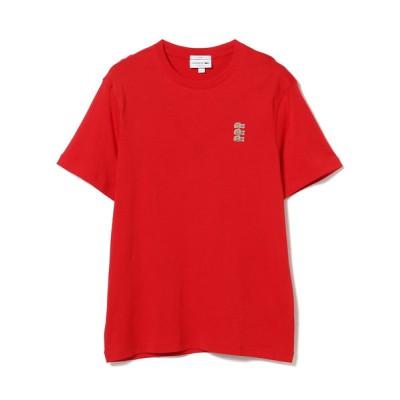 BEAMS MEN / LACOSTE / トリプル ワニロゴ パッチ Tシャツ MEN トップス > Tシャツ/カットソー