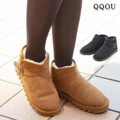 QQOU ククー 防寒あったかブーツ 内側ボア仕様 防水加工 ロシアで人気のウインターブーツ