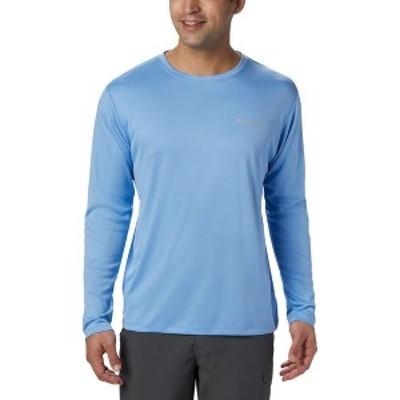 コロンビア メンズ シャツ トップス PFG Zero Rules Long-Sleeve Shirt White Cap