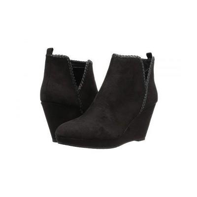 CL By Laundry シーエル レディース 女性用 シューズ 靴 ブーツ アンクル ショートブーツ Volcano - Black Suede