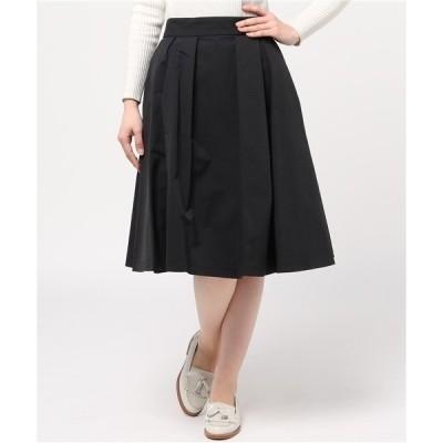 スカート Ray BEAMS / グログラン タック フレアースカート