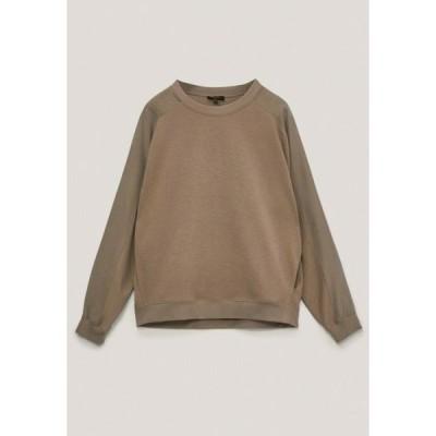 レディース ファッション Sweatshirt - beige
