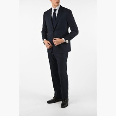 CORNELIANI/コルネリアーニ スーツ Blue メンズ side vents drop 6R 2-button MANTUA suit dk