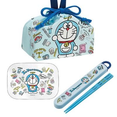 ドラえもん I'm Doraemon アルミお弁当箱 370ml 箸&箸箱 巾着セット