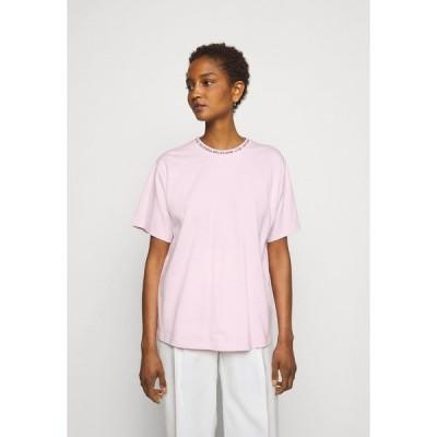 ビクトリアベックカム Tシャツ レディース トップス Print T-shirt - candy pink