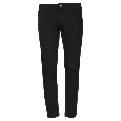 LOW BRAND パンツ ブラック 33 コットン 98% / ポリウレタン 2% パンツ