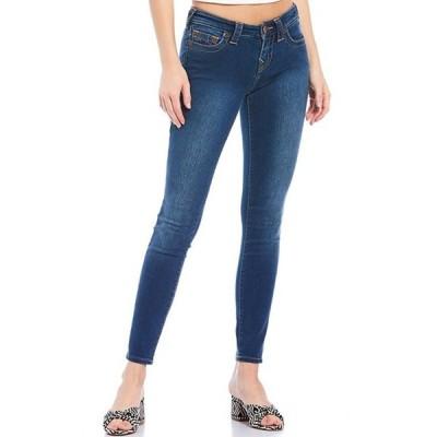 トゥルーレリジョン レディース デニムパンツ ボトムス Halle Mid-Rise Super Skinny Jean
