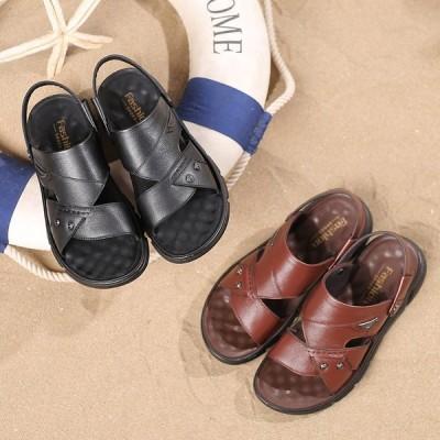 歩きやすい ぺたんこ ビーチ 海 リゾート ビーチサンダル 滑り止め スポサン 父の日 プレゼント 春夏 メンズ サンダル おしゃれ シンプル カジュアル 紳士靴