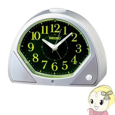 [予約 2月19日以降]SEIKO セイコー 目ざまし時計 銀色メタリック KR511S