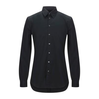 GAZZARRINI シャツ ブラック S コットン 98% / ポリウレタン 2% シャツ